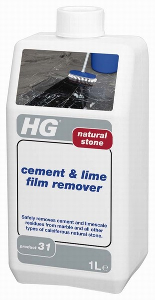 HG NATURAL STONE CEMENT &  FILM REMOVER