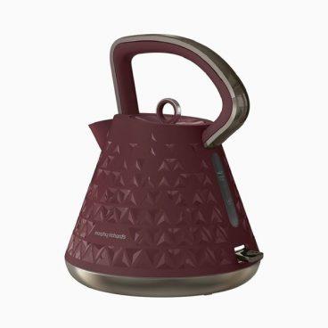 Morphy Richards Pyramid Kettle 108103 – Merlot