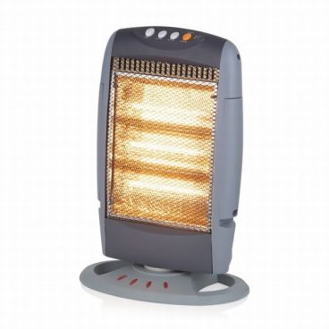 1200W Halogen Heater with Replacement Bulbs