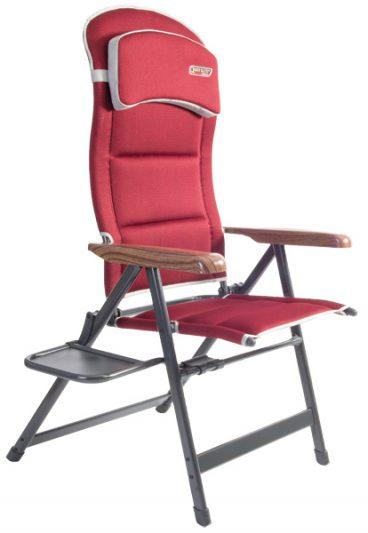 Quest – Bordeaux Recline Chair W/Table in Maroon