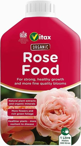 Vitax – Organic Rose Food Liquid – 1L