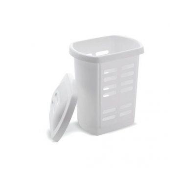 Addis – Laundry Hamper – White