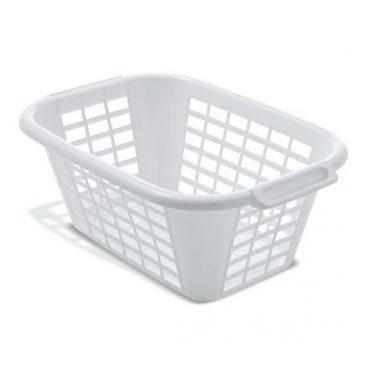 Addis – Rectangular Laundry Basket – White