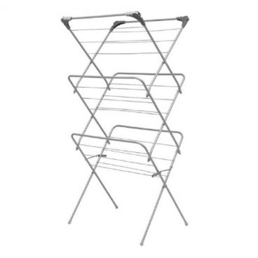 Addis – 3 Tier Airer with Hooks