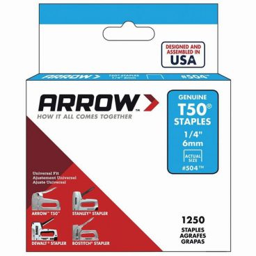 Arrow – T50 Staples – 10mm (1/4″)