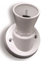 BATTEN LAMP HOLDER ANGLED T2