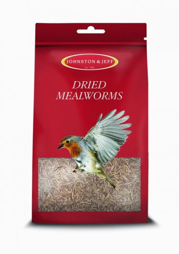 BIRD FEED MEALWORM 100GM J&J