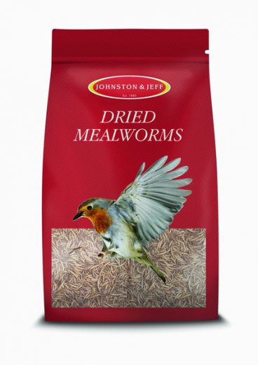 BIRD FEED MEALWORM 500GM J&J