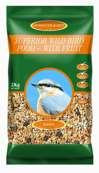 BIRD FEED SUPERIOR SEED 2KG J&J