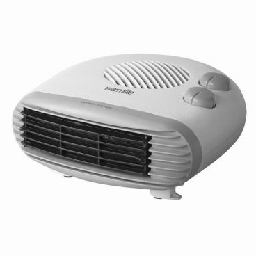 2W Flat Fan Heater Warmlite Titanium