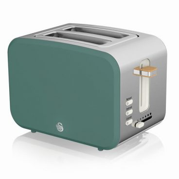 Swan Nordic – 2 Slice Toaster – Green