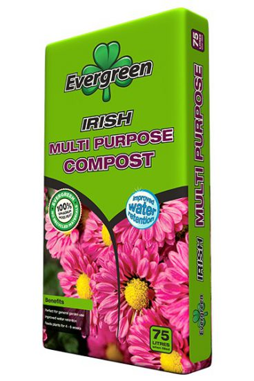 COMPOST M/P 20L EVERGREEN (5 FOR £10)