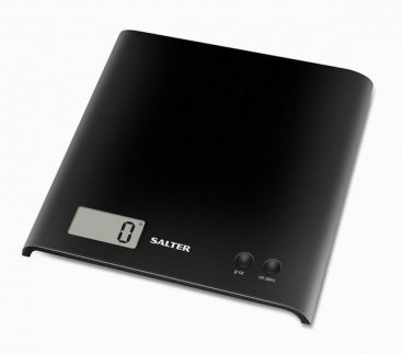 SCALES KITCHEN SALTER ARC ELECTRONIC BLACK