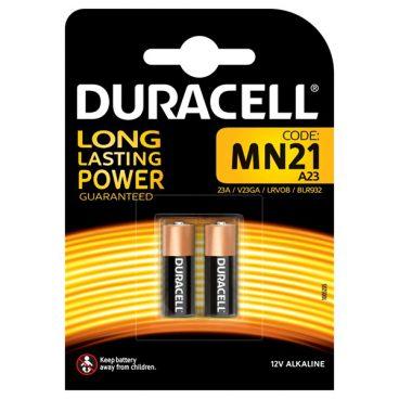 BAT D/CELL LRV08 / MN21 / A23 PK2