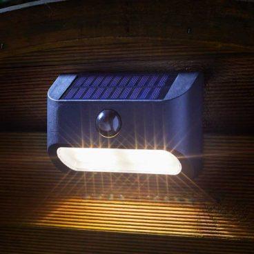 SOLAR LED WALL LIGHT PIR SENTINEL (2020)