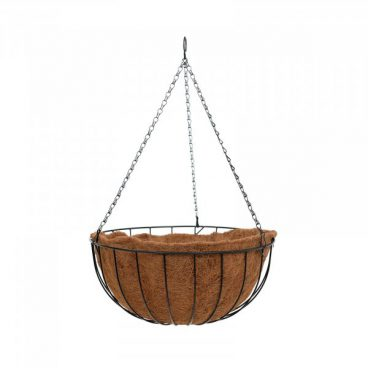 H/BASKET WITH LINER12IN