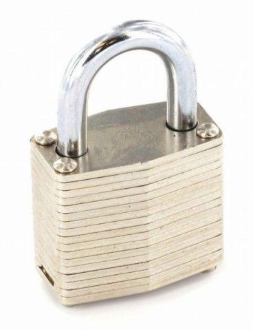 SECURIT S1115 PADLOCK  LAMINATE 40MM