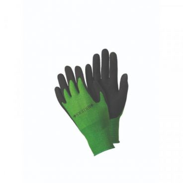GLOVE BAMBOO GRIPS GREEN LARGE