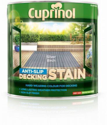 Cuprinol – Decking Stain – Silver Birch – 2.5L