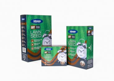 GRASS SEED ANY TIME JOHNSONS 500GM