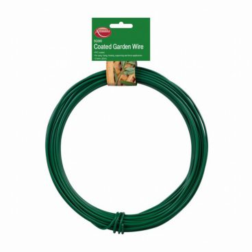 GARDEN WIRE GREEN PVC COATED 3.5MM X 20M
