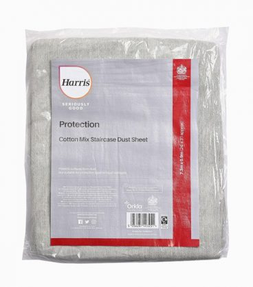 HARRIS SER GOOD COT RICH STAIRCASE DUST SHEET