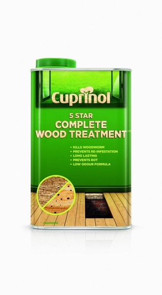 CUP 5 STAR WOOD TREATMENT 2.5L