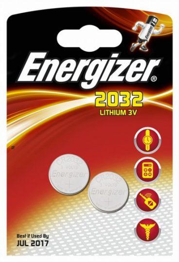 BAT ENERGIZER 2032 3V LITHIUM 2PK