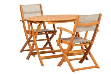 Chelsea Bistro Set 2 Chairs 1 Table
