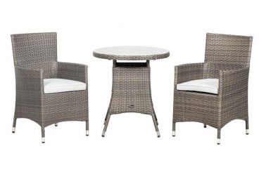 Marlow Bistro Set 2 Chairs 1 Table