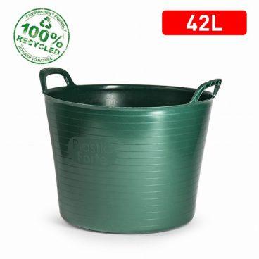 ALLPURPOSE TUB FLEXI RECYCLED GREEN 42L