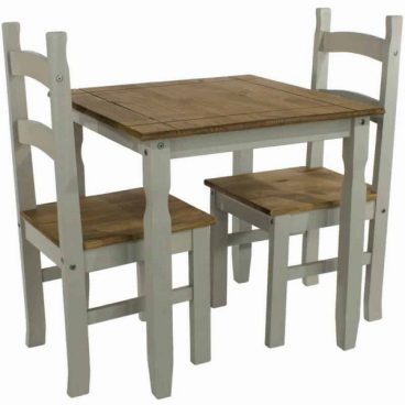 Corona Grey 2 Chair Dining Set