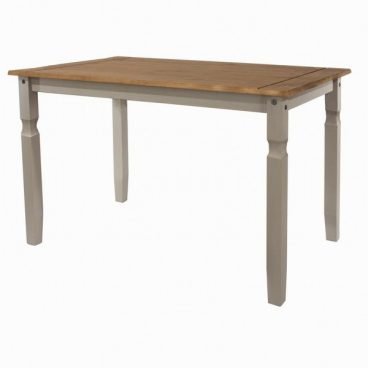 CORONA GREY DININGL (TABLE ONLY)disc n/r