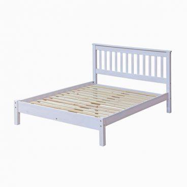 CORONA WHITE BEDSTEAD 4'6″