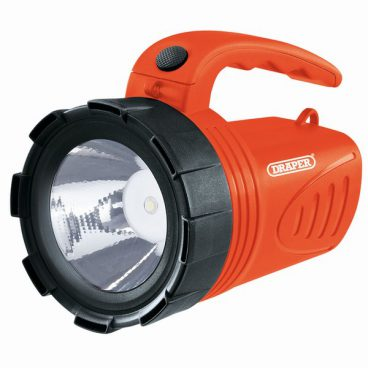 TORCH/HAND LANTERN RECHARGEABLE 3W ORANGE