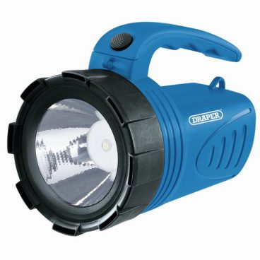 TORCH/HAND LANTERN RECHARGEABLE 3W BLUE