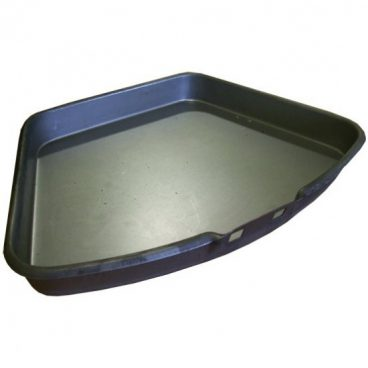 ASH PAN 11IN GALV
