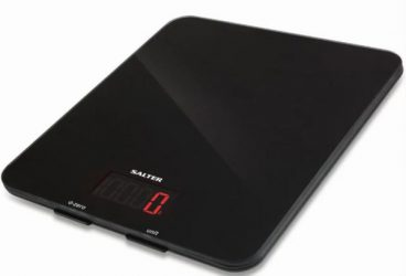 SCALES KITCHEN SALTER 10KG ELECTRONIC BLACK