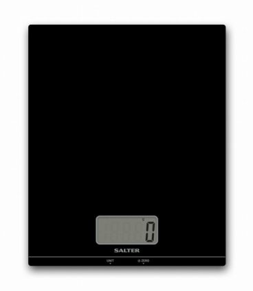 SCALES KITCHEN SALTER 5KG ELECTRONIC BLACK