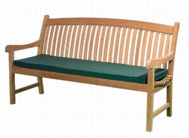 3 SEAT BENCH CUSHION GREEN