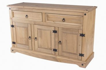 Corona 3 Door 2 Drawer Sideboard