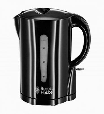 Russell Hobbs Black Essentials Kettle 2.2KW 1.7L
