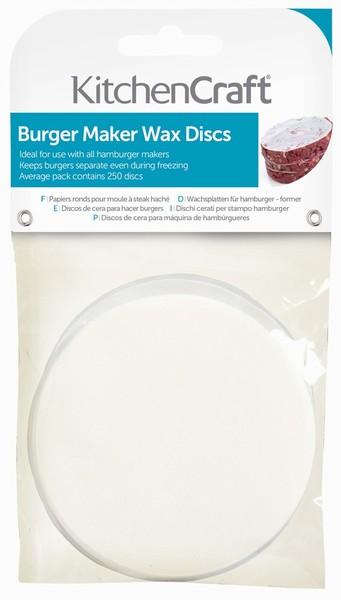 Burger Wax Discs