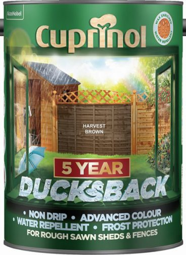 Cuprinol – Ducksback – Harvest Brown – 5L