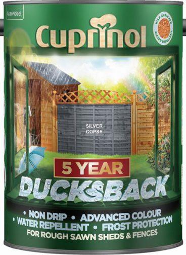 Cuprinol Ducksback Silver Copse – 5L