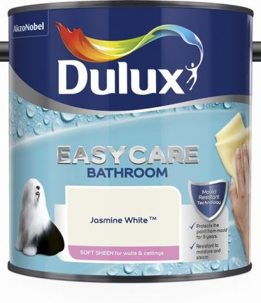 Dulux Easycare Bathroom Emulsion – Jasmine White 2.5L