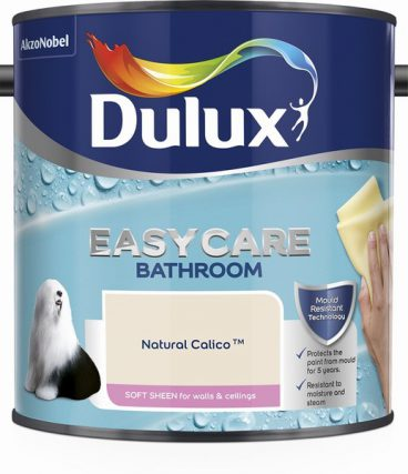 Dulux Easycare Bathroom Emulsion – Natural Calico 2.5L