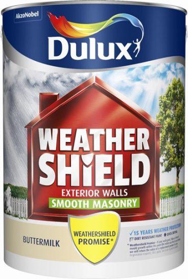 Dulux Weathershield Masonry Paint Smooth – Buttermilk 5L