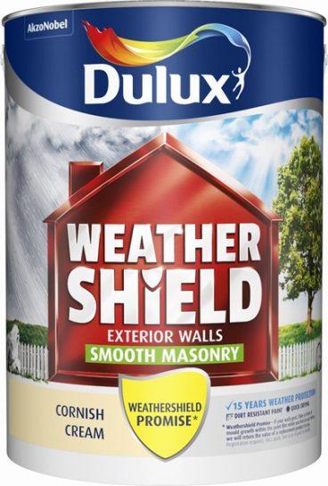 Dulux Weathershield Masonry Paint Smooth – Cornish Cream 5L