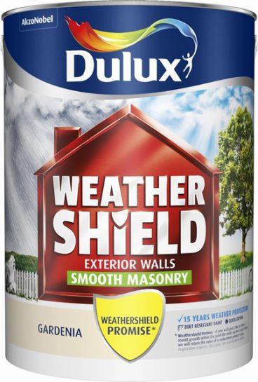 Dulux Weathershield Masonry Paint Smooth – Gardenia 5L